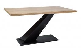 Jedálenský stôl ARROW dub masív 150x90 cm