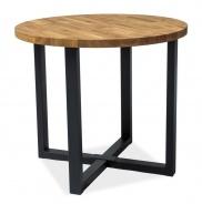 Jedálenský stôl ROLF dub masív