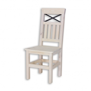 Stolička z masívu SEL 15, Provence štýl - výber morenia