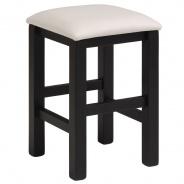 Stolička Clive - čierna/biela