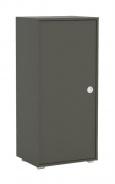Úzka komoda REA Lary S2 / 110 - graphite