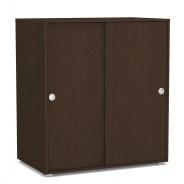 2-dverová komoda REA Lary S3 / 110 - wenge