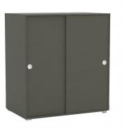 2-dverová komoda REA Lary S3 / 110 - graphite