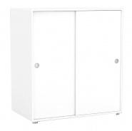 2-dverová komoda REA Lary S3 / 110 - biela