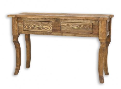 Písací stôl rustikálny LUD 20 - výber morenia
