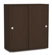 2-dverová komoda REA Lary S4 / 110 - wenge