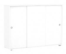 Široká komoda REA Lary S6 / 110 - biela