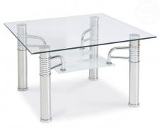 Konferenčný stolík Reni - kov/sklo