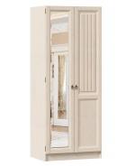 Šatníková skriňa Annie 2D (zrkadlo vľavo) - dub provence