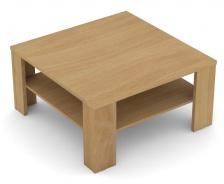 Štvorcový konferenčný stolík REA 5 - buk