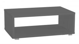 Konferenčný stolík REA Play 2 - graphite - s kolieskami / bez koliesok