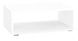 Konferenčný stolík REA Play 2 - biela - s kolieskami / bez koliesok