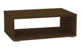 Konferenčný stolík REA Play 2 - wenge - s kolieskami / bez koliesok