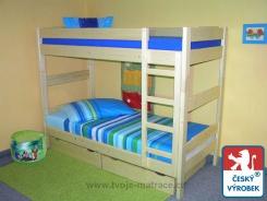 Poschodová posteľ Tam Tam - buk