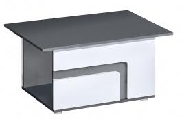 Konferenčný stolík APETTITA 18 antracit / biela