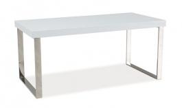 Konferenčný stolík ROSA biela lesk