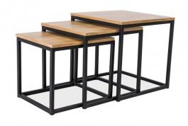 Konferenčné stolíky TRIO (3 ks)