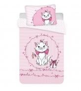 Detské obliečky do postieľky Marie Cat Pink