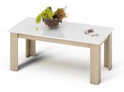 Konferenčný stolík KANO sonoma / biela lesk