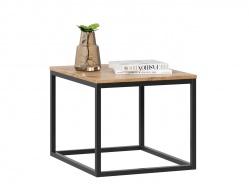 Malý konferenčný stolík Trevor - dub wotan/čierna