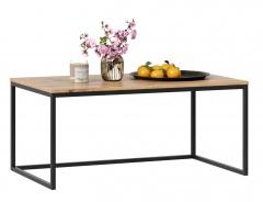 Konferenčný stolík Trevor - dub wotan/čierna