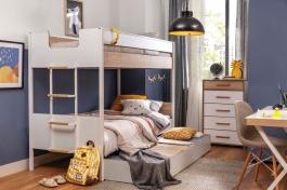 Detská izba Dylan I - biela/dub svetlý