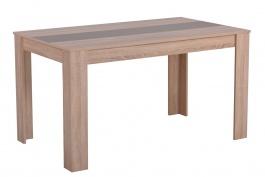 Jedálenský stôl George - dub sonoma/latte