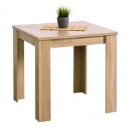 Jedálenský stôl Albert 80x80cm - dub sonoma