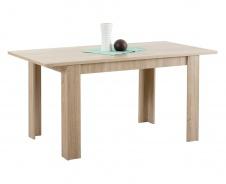 Jedálenský stôl s rozkladaním Albert 120x80cm - dub sonoma