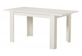 Jedálenský stôl s rozkladaním Albert 120x80cm - biely