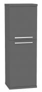Kúpeľňová skrinka s košom na bielizeň REA REST 4 - graphite