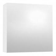 Závesná skrinka so zrkadlom REA REST 6 - biela
