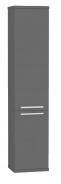 Vysoká kúpeľňová skrinka REA REST 5 - graphite
