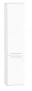 Vysoká kúpeľňová skrinka REA REST 5 - biela