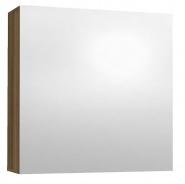 Závesná skrinka so zrkadlom REA REST 6 - orech rockpile
