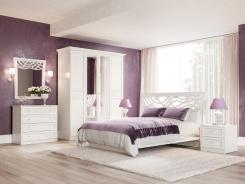 Spálňa Ofélie II - biela