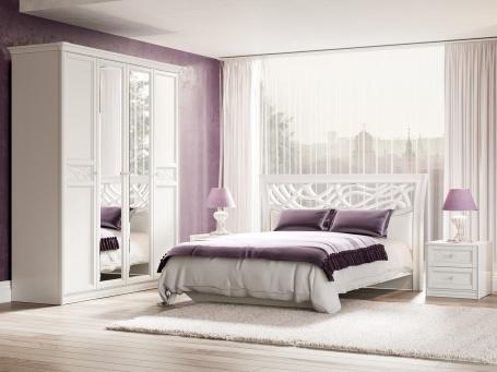 Spálňa Ofélie I - biela