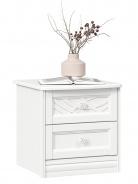 Nočný stolík Ofélie - biela