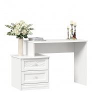 Toaletný stolík Ofélie - biela