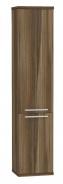 Vysoká kúpeľňová skrinka REA REST 5 - orech rockpile