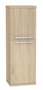 Kúpeľňová skrinka s košom na bielizeň REA REST 4 - dub bardolino