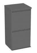Kontajnerová komoda REA Amy 16 - graphite