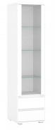 Vysoká vitrína REA Amy 21 - biela
