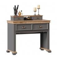 Toaletný stolík Annie-sivá/dub tortuga