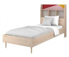 Detská posteľ 200x90cm Alenka - dub