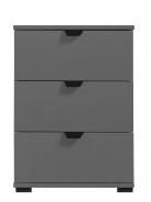 Nočný stolík Rango - šedý