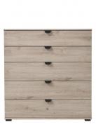 Široká komoda Rango - dub šedý