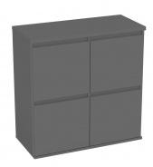 Komoda s 4 kontajnerovými zásuvkami REA Amy 17 - graphite