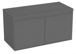 Komoda s 2 kontajnerovými zásuvkami REA Amy 11 - graphite