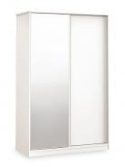 Skriňa s posuvnými dverami Pure - biela